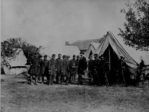 photograph of Lincoln during the Civil War